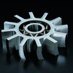 Exemple of a part Additive manufacturing Precision IMS